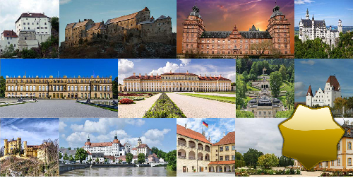 Spiel Schlösser und Burgen in Bayern
