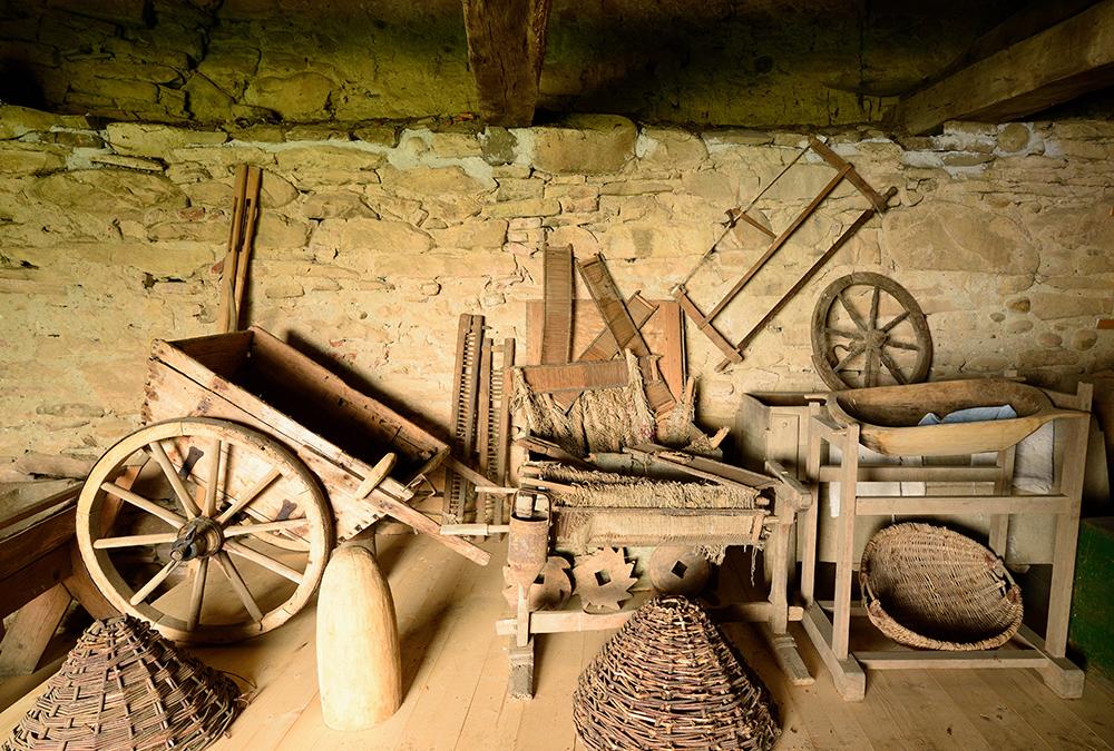 Sammlung volkskundliche Geräte